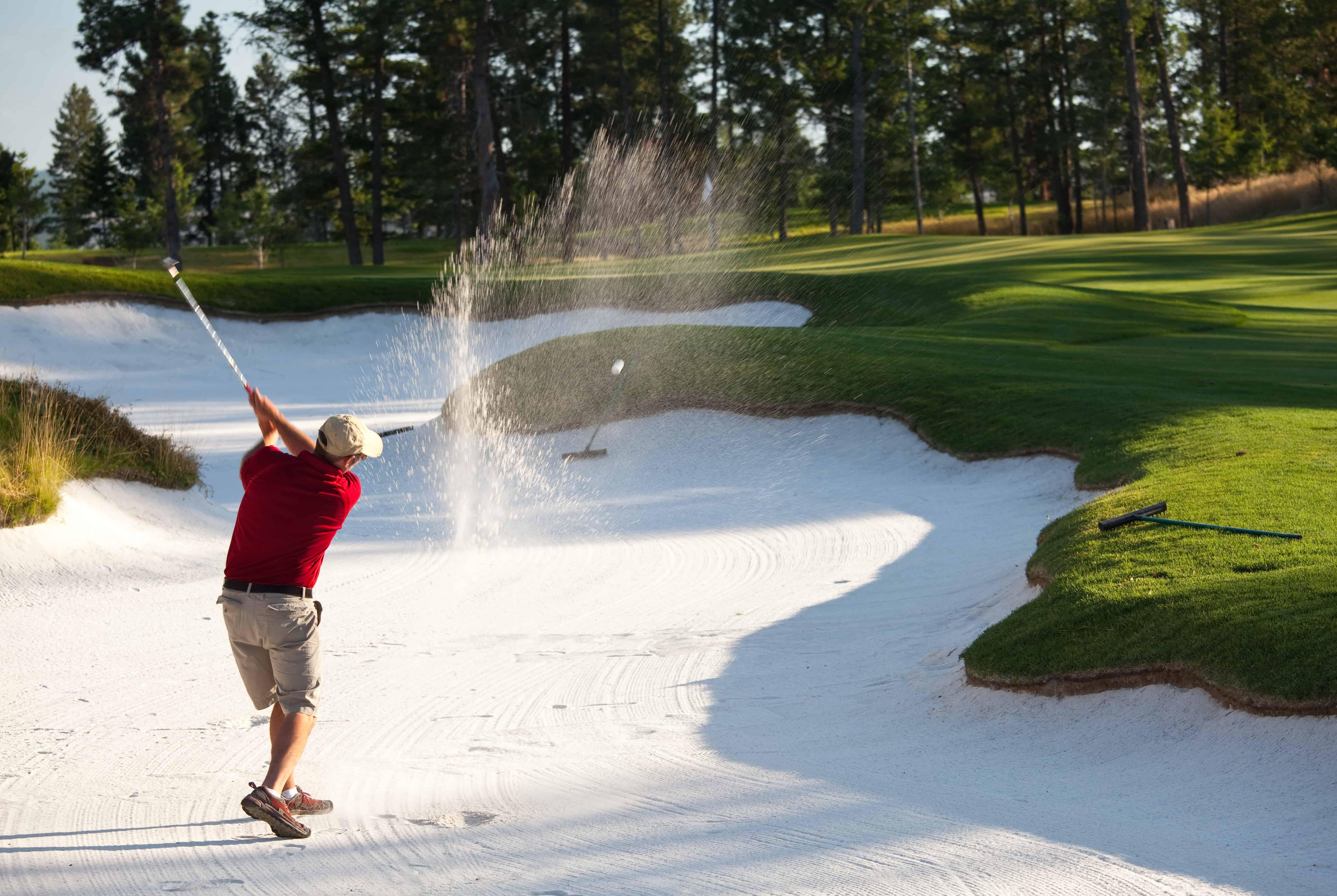Il campo da golf: struttura e materiali