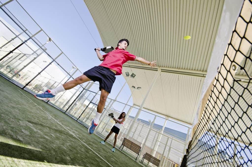 Padel tennis campo