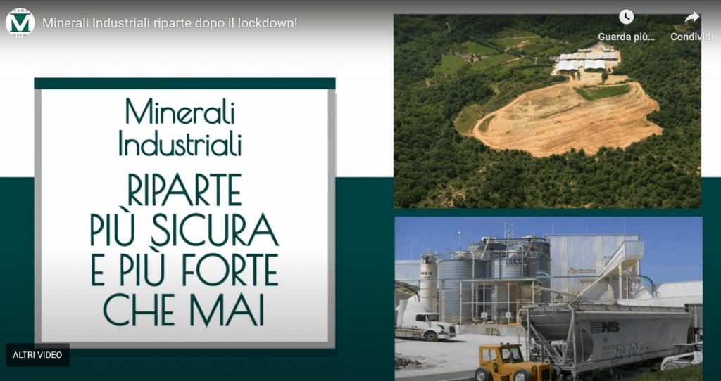 Minerali Industriali riparte dopo il lockdown
